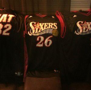 3 NBA Adidas Jerseys Oneal Iguodala Kover
